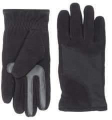 Isotoner Men's SmarTouch Modern Fleece Tech Stretch Gloves