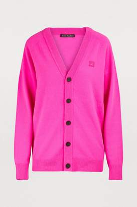 Acne Studios Nver Face buttoned cardigan