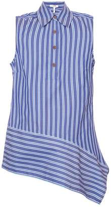 Derek Lam 10 Crosby Sleeveless Asymmetrical Hem Top