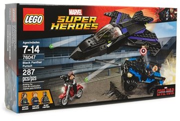Toddler Lego Marvel Super Heroes Black Panther Pursuit - 76047