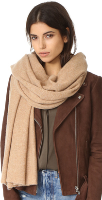 White + Warren Cashmere Travel Wrap $298 thestylecure.com
