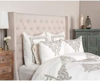 Villa Home Collection Patrina Embroidered Duvet Cover