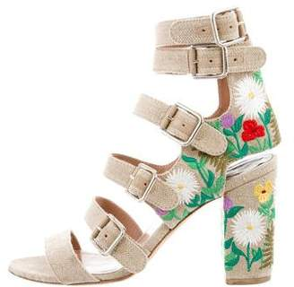 Laurence Dacade Dana Embroidered Sandals
