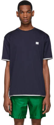 Acne Studios Navy Elmo Face T-Shirt