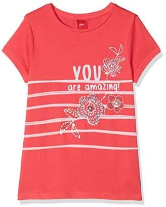 S'Oliver Girl's 58.806.32.5250 T-Shirt