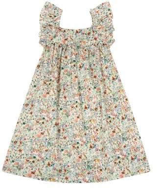 Bonton Lambada Floral Ruffled Liberty Dress