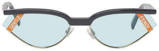 Gentle Monster Grey Fendi Edition Gentle Fendi No. 1 Sunglasses