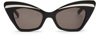 Karen Walker Babou shrunken cat-eye sunglasses
