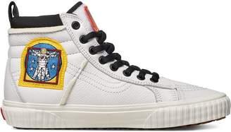 Vans white and black NASA sk8 hi 46 mte dx space voyager sneakers