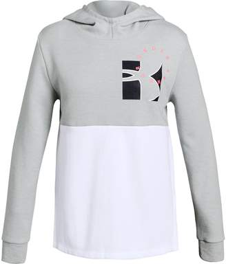 Under Armour Girls' UA Unstoppable Double Knit Hoodie