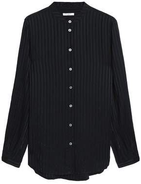 Equipment Embossed Silk-Jacquard Shirt