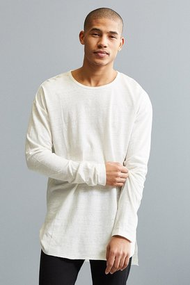 Urban Outfitters Ash Linen Long Sleeve Tee $44 thestylecure.com