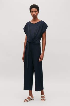 4c3687d94f03 Navy Jersey Jumpsuits - ShopStyle