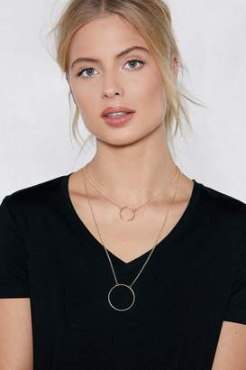 Nasty Gal Throwing Shapes Layered Necklace