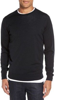 Men's John Smedley 'Marcus' Easy Fit Crewneck Wool Sweater $285 thestylecure.com