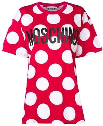 Moschino maxi polka dot T-shirt