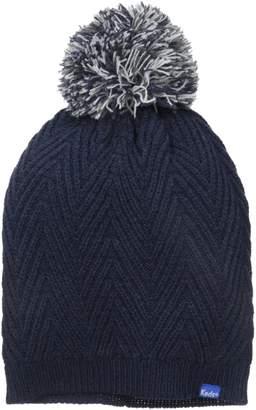 Keds Women's Herringbone Knit Pom Beanie