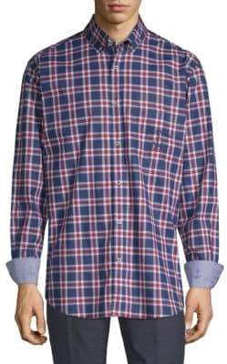 Paul & Shark Cotton Plaid Shirt