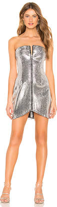 by the way. Geraldine Zip Mini Dress
