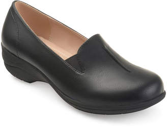 Journee Collection Womens Ellery Loafers Slip-on Round Toe