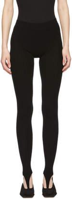 Jacquemus Black Les Collants Leggings