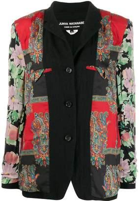 Junya Watanabe patchwork short jacket