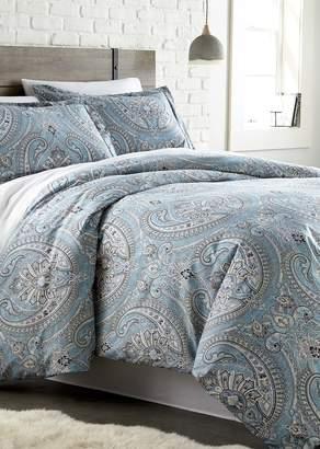 King/California King Sized Southshore Fine Linens Pure Melody Duvet Cover Sets - Aqua