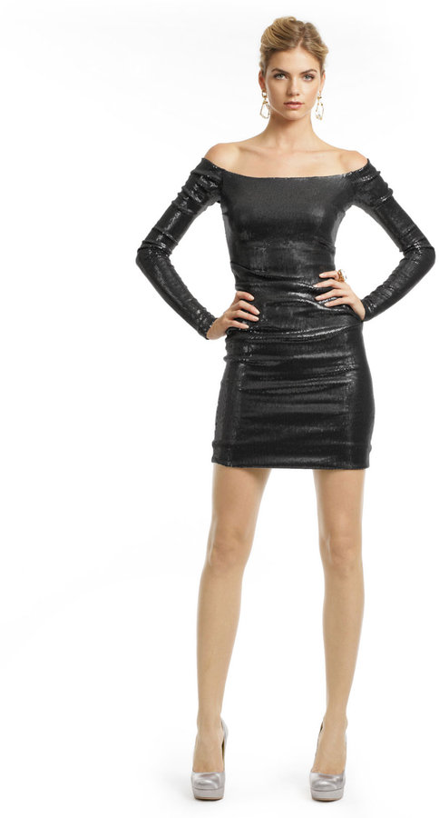 Nicole Miller Nirvana Sequin Sheath Dress