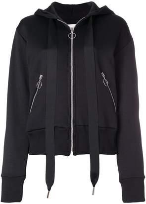 Marques Almeida Marques'almeida zipped hoodie
