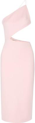 Cushnie et Ochs - Cindy Cutout Stretch-cady Dress - Baby pink $1,395 thestylecure.com