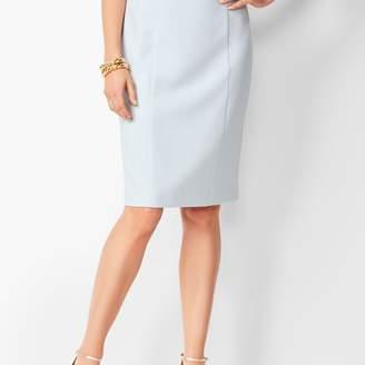 Talbots Italian Luxe Double-Cloth Pencil Skirt