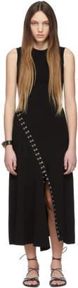 Alexander McQueen Black Sleeveless Knit Dress