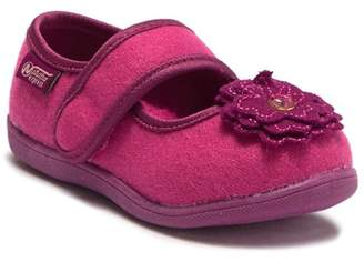 Naturino Express Flower Faux Shearling Lined Mary Jane Flat (Toddler & Little Kid)