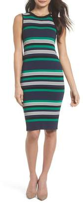 BB Dakota Callie Stripe Bodycon Dress