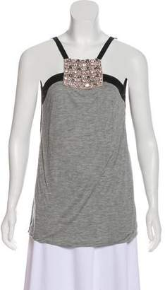 Yigal Azrouel Embellished Tank Top