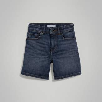 Burberry Relaxed Fit Stretch Denim Shorts