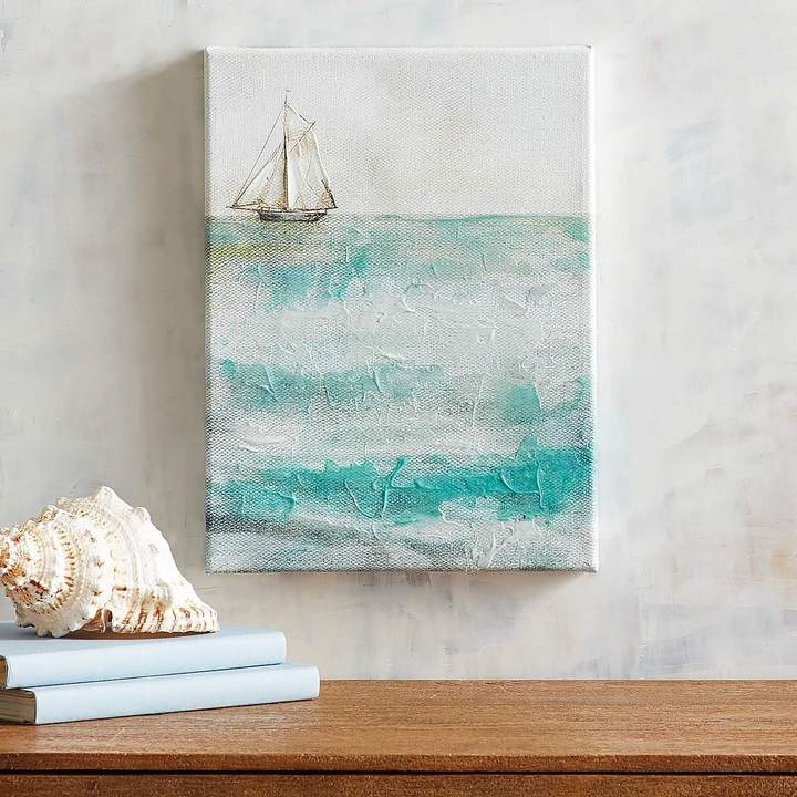 Distant Boat Wall Art