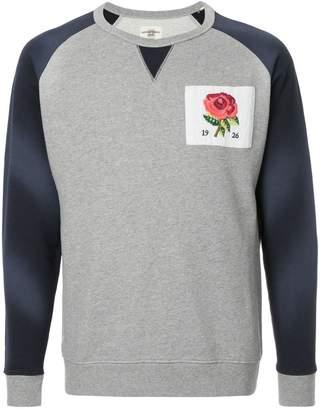 Kent & Curwen colour-block logo sweatshirt