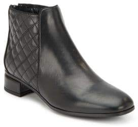 Aquatalia Laurel Leather Ankle Boots