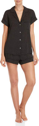 Eberjey Two-Piece Victoria Shirt & Short Pajama Set