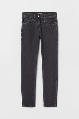 H&M Jeans with embroidery