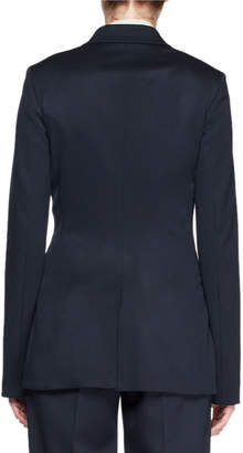 The Row Limay One-Button Wool Jacket