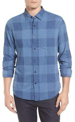 Bonobos Slim Fit Check Brushed Twill Sport Shirt