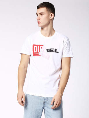 Diesel T-Shirts 0091B - White - 3XL