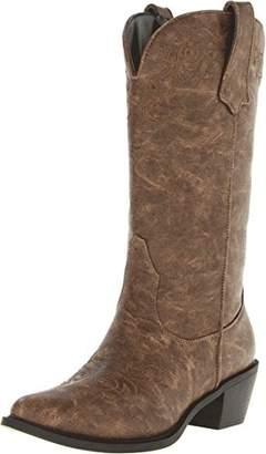 Roper Women's Western Embroidered Fashion Boot Boot 10 B - Medium