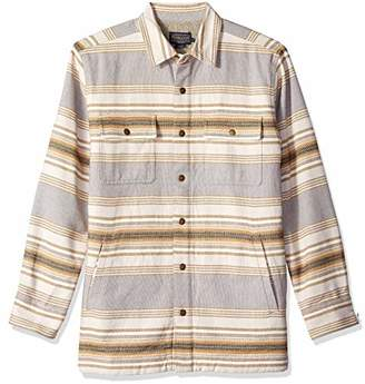 Pendleton Men's Long Sleeve Fleece Lined Shirt Jacket