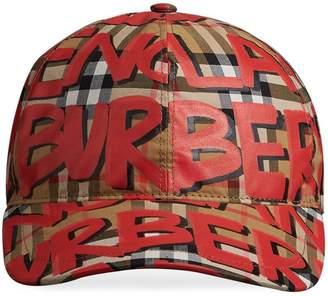 Burberry (バーバリー) - Burberry プリント キャップ