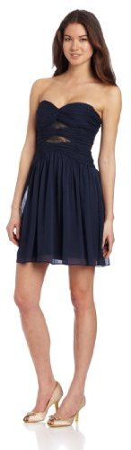 Max & Cleo Women's Strapless Flare Dress