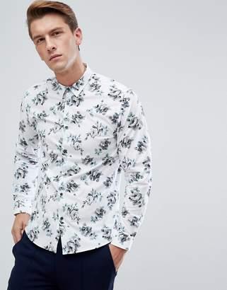 Jack and Jones Floral Shirt In Slim Fit