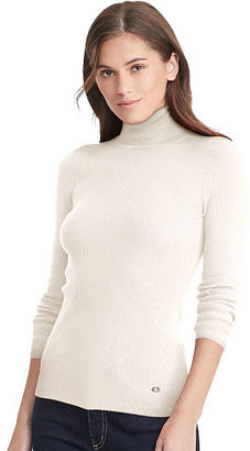 Ralph Lauren Ribbed Turtleneck Sweater $69.50 thestylecure.com